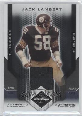 2007 Leaf Limited Threads [Memorabilia] #135 - Jack Lambert /100