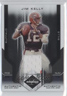 2007 Leaf Limited Threads [Memorabilia] #141 - Jim Kelly /100