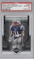 Brandon Meriweather /299 [PSA 10]