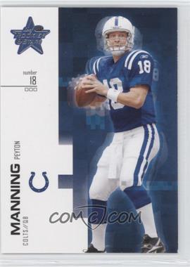 2007 Leaf Rookies & Stars - [Base] #80 - Peyton Manning