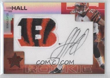 2007 Leaf Rookies & Stars Longevity - [Base] - SP Rookies Ruby Signatures [Autographed] #228 - Leon Hall /5