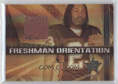 2007 Leaf Rookies & Stars Longevity - Freshman Orientation Materials - Footballs #FO-2 - Marshawn Lynch /25
