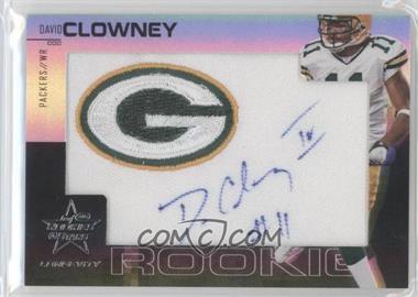 2007 Leaf Rookies & Stars Longevity Rookies Holofoil Signatures [Autographed] #226 - David Clowney /15