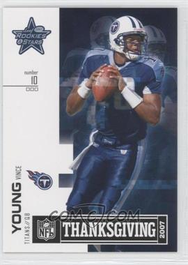2007 Leaf Rookies & Stars Thanksgiving Classic - [Base] #TC-8 - Vince Young