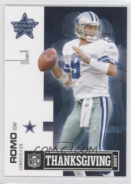 2007 Leaf Rookies & Stars Thanksgiving Classic #TC-1 - Tony Romo