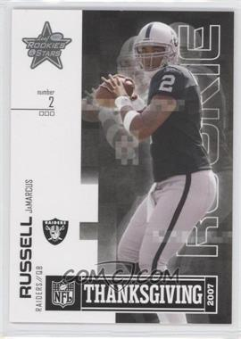 2007 Leaf Rookies & Stars Thanksgiving Classic #TC-11 - JaMarcus Russell