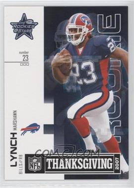 2007 Leaf Rookies & Stars Thanksgiving Classic #TC-12 - Marshawn Lynch