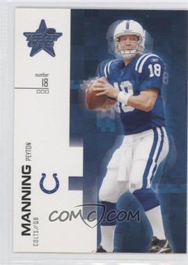 2007 Leaf Rookies & Stars #80 - Peyton Manning