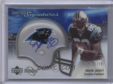 2007 NFL Sweet Spot - Signatures Tier 3 - Silver 75 #SSS-DJ - Dwayne Jarrett /75