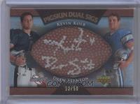 Kevin Kolb, Drew Stanton /50