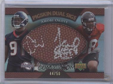 2007 NFL Sweet Spot [???] #PDS-OA - Amobi Okoye /50