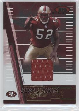 2007 Playoff Absolute Memorabilia - Rookie Jersey Collection #RJC-26 - Patrick Willis