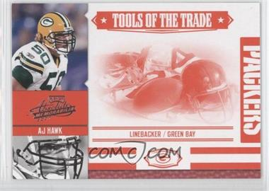 2007 Playoff Absolute Memorabilia - Tools of the Trade - Red #TOT-3 - AJ Hawk /100