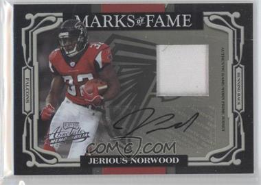 2007 Playoff Absolute Memorabilia Marks of Fame Materials Prime Signatures [Autographed] [Memorabilia] #MOF-1 - Jerious Norwood /25
