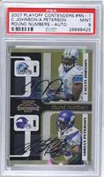 Calvin Johnson, Adrian Peterson /25 [PSA 9]