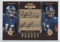 Steve Smith, Aaron Ross, Steve Smith /25