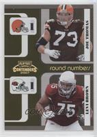 Joe Thomas, Levi Brown /250
