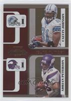 Adrian Peterson, Calvin Johnson /1000