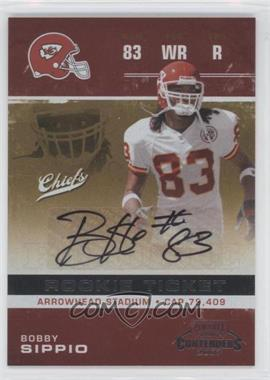 2007 Playoff Contenders #114 - Bobby Sippio