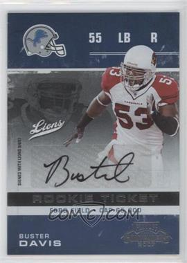 2007 Playoff Contenders #122 - Buster Davis /246