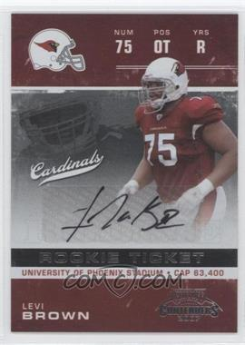 2007 Playoff Contenders #190 - Levi Brown /469