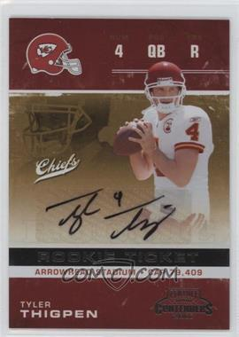 2007 Playoff Contenders #236 - Tyler Thigpen
