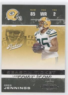 2007 Playoff Contenders #39 - Greg Jennings