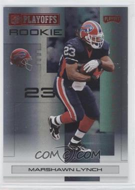 2007 Playoff NFL Playoffs - [Base] - Red Holofoil #123 - Marshawn Lynch /125
