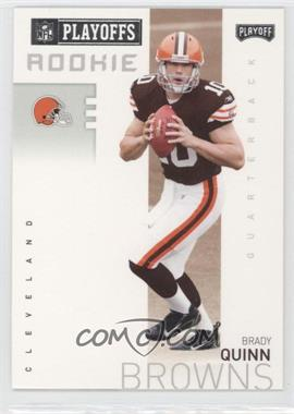 2007 Playoff NFL Playoffs Previews - [Base] #P-4 - Brady Quinn