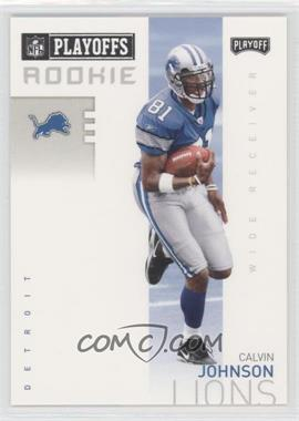 2007 Playoff NFL Playoffs Previews #P-3 - Calvin Johnson