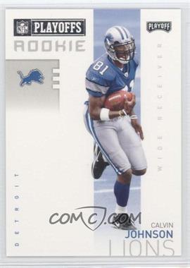 2007 Playoff NFL Playoffs Previews #P-3 - Calvin Johnson