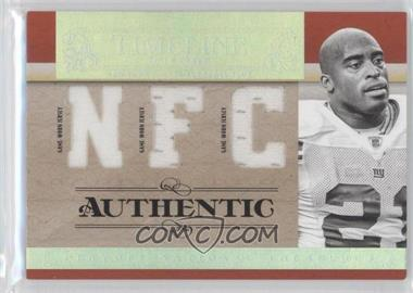 2007 Playoff National Treasures - Timeline - AFC/NFC Jersey #T-TB - Tiki Barber /25