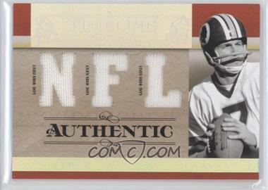 2007 Playoff National Treasures - Timeline - NFL Jersey #T-JT - Joe Theismann /99