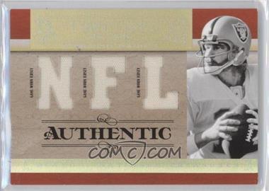 2007 Playoff National Treasures - Timeline - NFL Jersey #T-KS - Ken Stabler /99