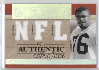 2007 Playoff National Treasures - Timeline - NFL Jersey #T-RG - Rosey Grier /99