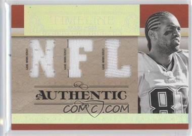 2007 Playoff National Treasures - Timeline - NFL Jersey #T-RM - Randy Moss /99
