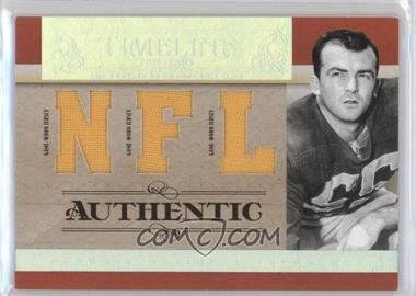 2007 Playoff National Treasures - Timeline - NFL Jersey #T-TF - Tom Fears /99