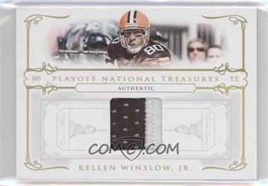 2007 Playoff National Treasures [???] #36 - Kellen Winslow /25