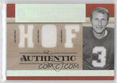 2007 Playoff National Treasures [???] #T-JS - Jan Stenerud /20