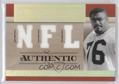 2007 Playoff National Treasures [???] #T-RG - Rosey Grier