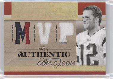 2007 Playoff National Treasures [???] #T-TB - Tom Brady /25