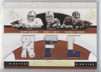 Barry Sanders, Emmitt Smith, Thurman Thomas /25