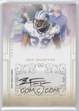 2007 Playoff National Treasures Gold Signatures [Autographed] #175 - Eric Frampton /49