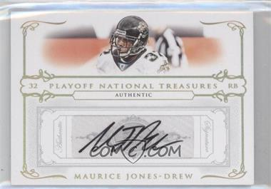 2007 Playoff National Treasures Gold Signatures [Autographed] #23 - Maurice Jones-Drew /25