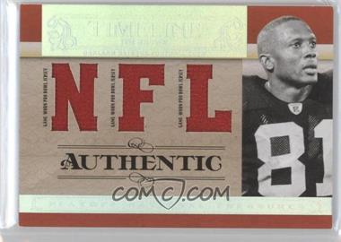 2007 Playoff National Treasures Timeline NFL Jersey #T-TB - Tim Brown /99