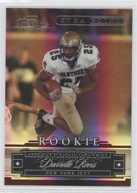 2007 Playoff Prestige Xtra Points Gold #192 - Darrelle Revis