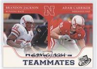 Adam Carriker, Brandon Jackson