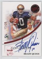 Brady Quinn /25