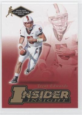 2007 Press Pass Collectors Series - [???] #II-5 - Trent Edwards