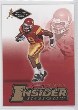2007 Press Pass Collectors Series [???] #II-11 - Dwayne Jarrett